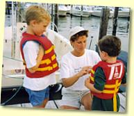 Safe boating practices.